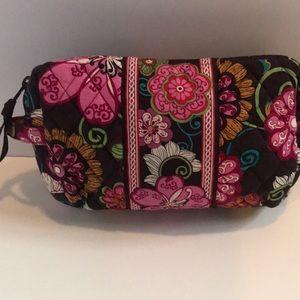 Medium Vera Bradley Cosmetic bag.